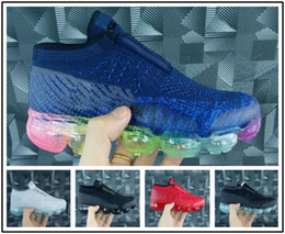 low cost 32646 54e55 Großhandel Nike Air Max Airmax Vapormax 2019 Kinder Presto Kissen  Laufschuhe Kinder Sportschuhe Slip On Jungen Mädchen Training Schwarz Rot  Sport Sneaker ...