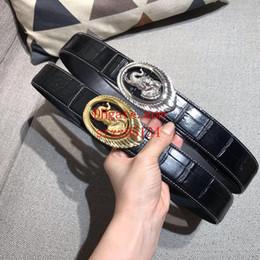 Fivelas de águia on-line-2019 moda newThe New cintos de cintos para homens big fivela cinto top mens cintos de couro por atacado dos homens águia fivela de cabeça