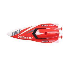 Canada 3312M 2.4GHz bateau de bateau rc 4 canaux haute vitesse mini bateau de course étanche rechargeable speedboat enfants jouet supplier speedboat toys Offre