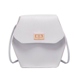 Корейский новый продукт онлайн-Korean version of small square bag with cover lock wholesale 2019 summer new products cross-shoulder lady small change bag