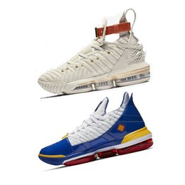 Relógios azuis em execução on-line-16 16 s basquete designer de luxo sapatos XVI assista ao trono hfr ouro preto azul nova chegada mens trainer correndo calçados esportivos tamanho 7-12