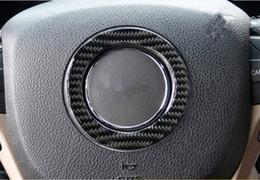 rodas jeep cherokee Desconto Apto Para Jeep Grand Cherokee 2014-2018 De Fibra De Carbono Volante Anel Quadro Guarnição