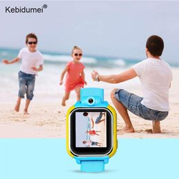 3g gps smart watch Скидка kebidumei Smart GPS Watch Tracker Анти-потерянные детские наручные часы 3G GPRS GPS Locator Tracker SmartWatch с камерой для IOS Android