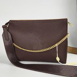 Borse frizione online-Designer borse di lusso Crossbody Messenger Borse a tracolla a catena Borsa con cinghia; pelle signore delle borse borsa frizione Borse