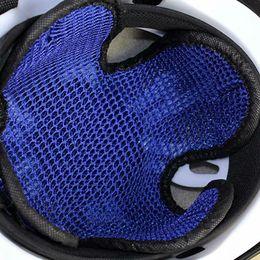 Deutschland Universal Motorrad Helm Insert Liner Cool Pad 3D Zellular Mesh Atmungsaktive Kopfhaut Gesundheit Versorgung