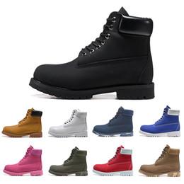 Homens sapatos casuais para o inverno on-line-Timberland Boots Barato Tlberland Marca TBL 10061 Original botas Mulheres Homens Designer de Esportes Vermelho Branco Inverno Tênis Casuais Formadores Mens Womens Luxo bota