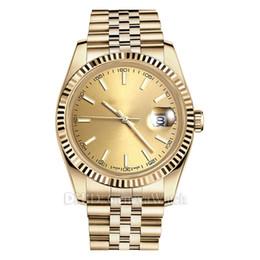 2019 мужские браслеты из цельного золота Роскошные часы Datejust 126333 8215 автоматические мужские дизайнерские часы montre De luxe золото сталь твердый браслет механические сапфировые наручные часы дешево мужские браслеты из цельного золота