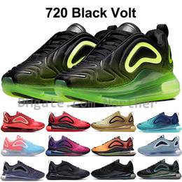 Будущее освещение онлайн-Отбросьте будущее Nike air max 720 кроссовок мужские переливающиеся луна северное сияние море лес дизайнер обувь женская розовое море закат роскошные кроссовки