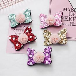 Cute Baby Girls Accessori per capelli Paillettes Cuore Farfalle Barrette Glitter New Stars Clip Pin Per bambini Forcina per bambini da