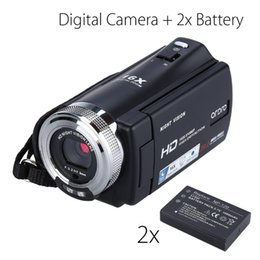 "2019 verstecke kamerataschen ORDRO HDV-V12 3,0 ""LCD 1080P FHD-Digitalkamera-Camcorder 16-fach-Zoom-DVR-IR-Nachtsicht-CMOS-Sensormikrofon + 2 Stück Batterie"