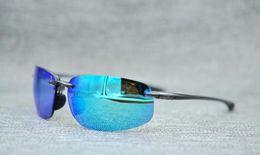 Deutschland Mode stil 407 sonnenbrille männer frauen polarisierte sonnenbrille super licht mit box case tuch Versorgung