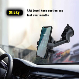 Argentina Soporte del teléfono del coche libre de DHL para los accesorios de los coches, soporte universal del teléfono del parabrisas del tablero de instrumentos de la ventilación de aire para la cuna del soporte del coche con la rotación 360 ° Suministro