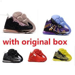 Günstige neue Herren Lebrons 17 XVII Basketballschuhe zum Verkauf Retro Lebron James 17s MVP BHM Oreo Kinder Frauen Turnschuhe Stiefel Original Box