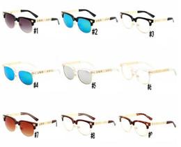 2019 женские полурамные очки Топ Luxury Fashion Brand Полукадровые солнцезащитные очки Shade Sunglasses Дизайнерские очки Очки мужские женские солнцезащитные очки дешево женские полурамные очки