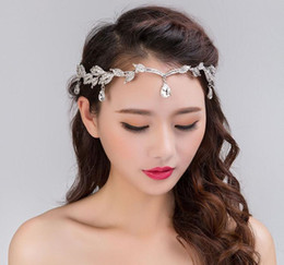 flower tiara crown headpiece Coupons - Bling Silver Popular Sliver Mini Flower Rhinestone Hair Wedding Party Hair Accessories Wedding Tiara For Bridal Crowns Headpieces