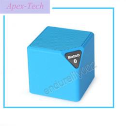 Canada Promotion mini X3 carré Bluetooth haut-parleur sans fil woofer Radio FM USB avec micro enceinte bluetooth portable puissant Offre