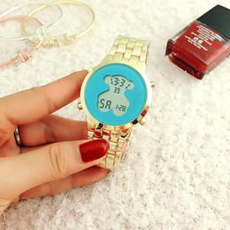 Uhr stahl japan movt online-2017 neue berühmte top marke frauen rundes zifferblatt luxus japan movt quarzuhren mode damen edelstahl kristall diamanten armbanduhren