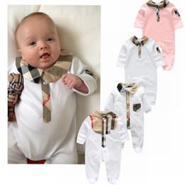 Nouveau-né Vêtements Bébé Babyworks One Pieces Bébé Barboteuse Infantile Garçons Filles Manches Longues Combinaisons Vêtements Bébé Barboteuses ? partir de fabricateur