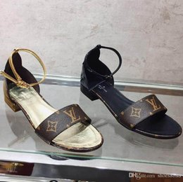 Новая корейская мода дикие нескользящие сандалии на высоком каблуке сексуальные удобные трендовые кожаные роскошные высокие каблуки Размер 35-40 номер: 42 cheap korean heels от Поставщики корейские каблуки
