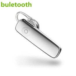Boccioli di mele online-Mini cuffie stereo Bluetooth wireless M165 Cuffie wireless Bluetooth Controllo one-touch universale per auricolari di tutti i telefoni cellulari