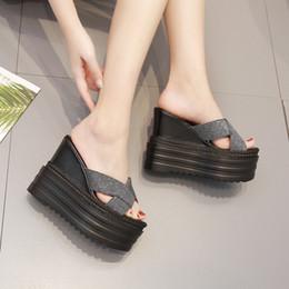 fd6de2a4590 Discount korean men slipper - 2019 summer new fashion ultra high with  women s slippers Korean version