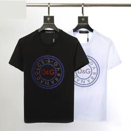 2019 мужская футболка Гладкий шелк хлопок удобные мягкие мужские с коротким рукавом дизайнер футболка снизу рубашка с круглым воротом весной и летом мужские футболки с коротким рукавом дешево мужская футболка