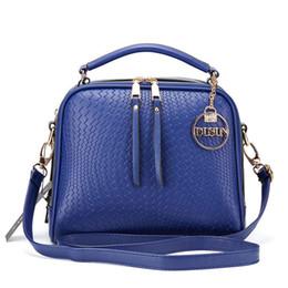 buona qualità Knitting Pattern Handbag Donna Messenger Moda Donna Design Borse Borsa a spalla Feminina Tote casual da