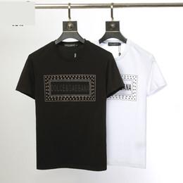 2019 magliette di hip hop d'epoca Maglietta da uomo di design maschile vintage di lusso in cotone mercerizzato di alta qualità, di lusso italiano, di lusso italiano, di tendenza