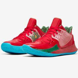 2019 tvs für billig 2019 neue Ankunftmens Kyrie Schuhe TV PE-Basketball-Schuhe 5 für Billig 20. Jahrestag Sponge x Irving 5s V Fünf Luxus-Turnschuhe qo001 günstig tvs für billig