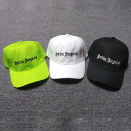 famosi designer di cappelli Sconti PALM ANGELS 2019 Designer Mens Baseball Caps Classici Marchi famosi Cappelli sportivi Uomo Donna Casquette Copricapo Lettera Ricamo golf Sport Cap