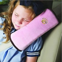 1Pair Car Seat Belt Protection Adjuster Relax Buffer Shoulder Pad Cotton Covers