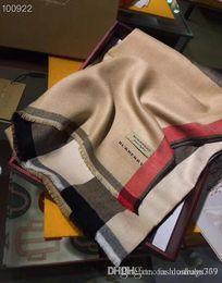 marca a forma das mulheres cachecol marcas projetar cachecol de alta qualidade Scarf Carta Plaid design padrão de
