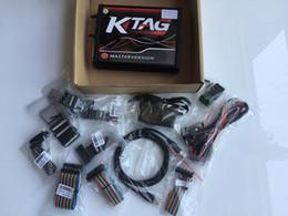programador camiones volvo Rebajas Más reciente KTAG FW 7.020 ECU Chip Programmer K TAG V2.23 Versión Master No Token Limited Para Coche / Camión KTAG ECU Chip Tuning Tool