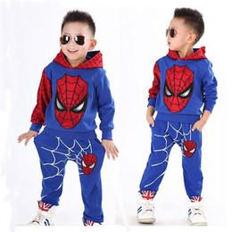 el jogger se adapta a los niños Rebajas 2019 niños Ropa para niños muchachos del niño de diseño de impresión de algodón con capucha del basculador de los pantalones fijaron para los niños trajes