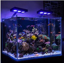 Luces led para acuarios de arrecife online-DHL libera la iluminación del acuario del tanque LED reef marino del acuario LED del envío libre de DHL para 30-60cm el tanque