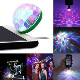 2019 lampada di fase principale del usb 3 porta USB della sfera della lampadina 3 USB LED RGB del partito della discoteca Stage Light DJ KTV Lampada magica sfera telefono portatile sconti lampada di fase principale del usb