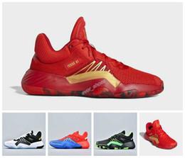 2019 Yeni DON Sayı 1 Stealth Spider Man D.O.N. Kırmızı Mavi Donovan Ness Mitchell Basketbol ayakkabıları Erkek Spor Eğitmenler Tasarımcı Sneakers cheap mitchell ness sports nereden mitchell ness sports tedarikçiler