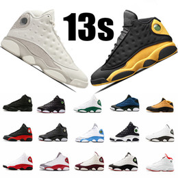 sale retailer 01706 9c8e9 13s Herren Basketballschuhe XIII Phantom Melo GS Hyper Royal Bordeaux  Flints Chicago gezüchtet DMP Wheat Olive Ivory Black Cat Sportschuhe