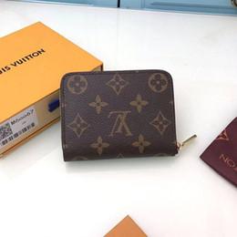 Frete Grátis top quality women man caixa de luxo rmulticolor designer de cartão carteira curta titular clássico bolso Dropshipping de