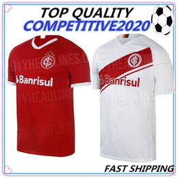 63193c3fc camisa roja tailandia Rebajas 19 20 Camiseta de fútbol de Brasil  Internacional CLUB sport RED HOME