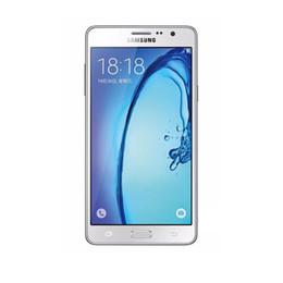 2019 мобильные телефоны samsung dual sim Восстановленное в Исходном Samsung Galaxy On7 G6000 Dual SIM 5.5 дюймов Quad Core 1.5 ГБ RAM 8 ГБ / 16 ГБ ROM 13MP 4 Г LTE Мобильный Телефон Бесплатный DHL 10 шт дешево мобильные телефоны samsung dual sim