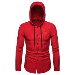 Argentina Moda hombre joven streetwear corte sudadera con capucha sudadera con capucha de color creativo a juego de manga larga 4 color S-2XL tamaño envío gratis cheap hoodie cut Suministro