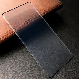 Rasguño de pantalla galaxy nota online-para Samsung Galaxy Note10 Pro Cubierta de pantalla completa Protector de vidrio templado HD Anti Explosión Anti Scratch Envío de la gota gratis