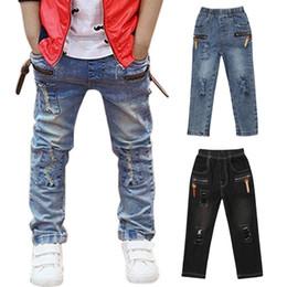 2019 cool jeans Niño, niño, niña, niña, ropa, parche fresco, jeans, lavado medio, denim, niño, pantalones largos, pantalones, ropa cool jeans baratos