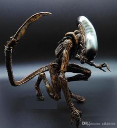 2019 aliens vs figura predadora 1 pc Alien vs Predator AVP ABS 20 cm Action Figure Modelo Collectie Toy MOVIE Filme Brinquedos Opp Bag Scar Predator RAINHA aliens vs figura predadora barato