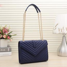S decorazioni online-S # fabbrica all'ingrosso di trasporto libero designer di lusso borse borse semplice catena lettera decorazione borsa tracolla donna Messenger bag
