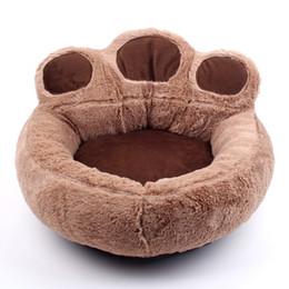 Grande gatto di peluche online-Cucciolo di cane invernale per cucce per cani e gatti