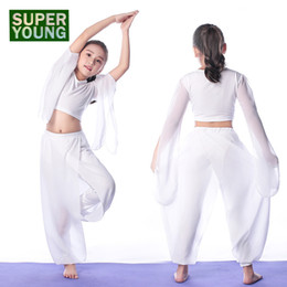 white kids sports suit Coupons - Sportswear Girls Body Dance Costume Yoga Set Kids Gym Wear Children Fitness Clothing Women Sports Dancing Clothes Training Suits
