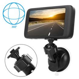 G sensor móvel on-line-4-inch 1080P HD Camera Detecting Mobile Detection Tocando Car Camcorder Auto Dash Cam DVR Car Video Registrator G-Sensor Recorder