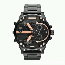 2019 oulm gold Venta caliente de lujo para hombre reloj de acero inoxidable correa de gran dial diseñador de relojes de cuarzo relojes militares clásicos fecha automático relojes reloj